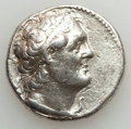 Ancients:Greek, Ancients: PTOLEMAIC EGYPT. Ptolemy II Philadelphus (285-246 BC). ARtetradrachm (13.87 gm). About XF, brushed, scratches. ...