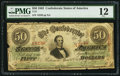 Confederate Notes:1863 Issues, T57 $50 1863 PF-5 Cr. 410.. ...