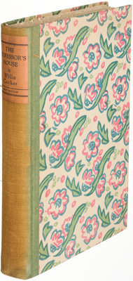 Willa Cather. Pair of Alfred A. Knopf Books. New York: 1925-1931. First editions, limited issues, signed