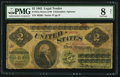 Large Size:Legal Tender Notes, Fr. 41a $2 1862 Legal Tender PMG Very Good 8 Net.. ...