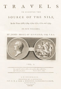 James Bruce. Travels to Discover the Source of the Nile, In the years 1768, 1769, 1770, 1771