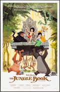 "Movie Posters:Animation, The Jungle Book (Buena Vista, R-1984). One Sheet (27"" X 41""). Animation.. ..."