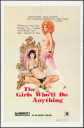 "Movie Posters:Sexploitation, The Girls Who'll Do Anything & Others Lot (Group 1, 1976). OneSheets (4) (27"" X 41""). Sexploitation.. ... (Total: 4 Items)"