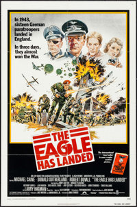 """The Eagle Has Landed & Others Lot (Columbia, 1976). One Sheets (3) (27"""" X 41""""). War. ... (Total: 3 Ite..."""