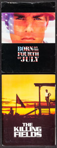 """Movie Posters:War, Born on the Fourth of July & Other Lot (Universal, 1989).Presskits (2) (9"""" X 12"""") with Photos (24) (8"""" X 10""""). War.. ...(Total: 2 Items)"""