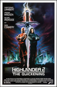 """Highlander II: The Quickening & Others Lot (Interstar, 1991). One Sheets (3) (27"""" X 40"""", 27"""" X 41&quo..."""