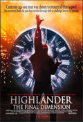 """Movie Posters:Fantasy, Highlander: The Final Dimension & Others Lot (Dimension Films, 1995). One Sheet (27"""" X 40"""") & German A1s (2) (23.25"""" X 33"""").... (Total: 3 Items)"""