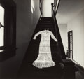 Photographs, Douglas Prince (American, b. 1943). Untitled (Dress on stairs), 1970. Gelatin silver. 7-3/4 x 8-1/4 inches (19.7 x 21.0 ...