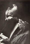 Photographs, Inge Morath (Austrian, 1923-2002). Eleanor Roosevelt and Adlai Stevenson, 1961. Gelatin silver. 13-1/2 x 9-1/2 inches (3...
