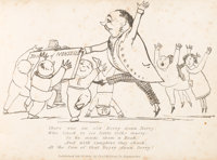 [Edward Lear]. Book of Nonsense. London: Thos. McLean, 1846. First edition