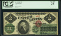 Large Size:Legal Tender Notes, Fr. 41a $2 1862 Legal Tender PCGS Very Fine 25.. ...
