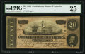 Confederate Notes:1864 Issues, T67 $20 1864 PF- 7 Cr. 508.. ...