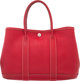 Hermes 30cm Rouge Vif Negonda Leather Garden Party TPM Tote Bag with Palladium Hardware L Square, 2008 Condition: 4