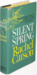 Books:Science & Technology, Rachel Carson. Silent Spring. Boston: 1962. First edition, inscribed by the author....