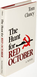 Books:Literature 1900-up, Tom Clancy. The Hunt for Red October. Annapolis: [1984]. First edition, inscribed....