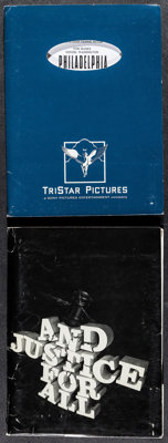 "Philadelphia & Other Lot (Tri-Star, 1993). Presskits (2) (9"" X 12"") & Photos (20) (8"" X 10"")..."