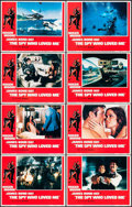 """Movie Posters:James Bond, The Spy Who Loved Me (United Artists, 1977). Lobby Card Set of 8 (11"""" X 14""""). James Bond.. ... (Total: 8 Items)"""