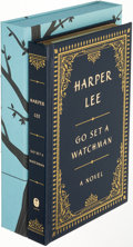 Books:Literature 1900-up, Harper Lee. Go Set a Watchman. New York: [2015]. Firstedition, limited to 500 copies and signed....