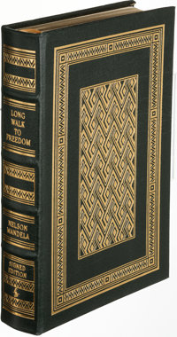 Nelson Mandela. Long Walk to Freedom. Norwalk: [2000]. Collector's Edition, signed