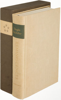 General Douglas MacArthur. Reminiscences. New York: [1964]. First edition, limited and signed