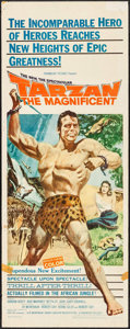 """Movie Posters:Adventure, Tarzan the Magnificent & Other Lot (Paramount, 1960). Inserts (2) (14"""" X 36""""). Adventure.. ... (Total: 2 Items)"""