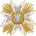 Estate Jewelry:Brooches - Pins, Diamond, Enamel, Gold Brooch, Montclair. ...