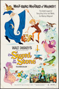 """Movie Posters:Animation, The Sword in the Stone (Buena Vista, R-1973). One Sheet (27"""" X 41""""). Animation.. ..."""