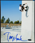 Miscellaneous Collectibles, Tony Hawk Signed Photograph. . ...