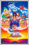 "Movie Posters:Animation, Aladdin (Buena Vista, 1992). One Sheet (27"" X 41"") DS Advance. Animation.. ..."