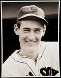 Baseball Collectibles:Photos, 1939-42 Ted Williams Type I Photo. ...