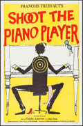 """Movie Posters:Foreign, Shoot the Piano Player (Cocinor, 1960). One Sheet (27"""" X 41""""). Foreign.. ..."""