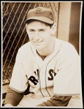 Baseball Collectibles:Photos, 1939-42 Ted Williams Type I Photo from Official Team Photographer.....