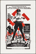 "Movie Posters:Exploitation, Ilsa, She Wolf of the SS (Cambist Films, 1975). One Sheet (27"" X41""). Exploitation.. ..."