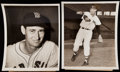 Baseball Collectibles:Photos, 1947-55 Ted Williams Type I Photos Lot of 3.. ...