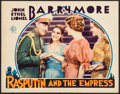 "Movie Posters:Drama, Rasputin and the Empress (MGM, 1932). Lobby Card (11"" X 14"").Historical Drama.. ..."