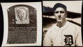 Baseball Collectibles:Photos, Lot of 2 Hank Greenberg Type I Photos.. ...
