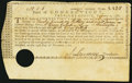 Colonial Notes:Connecticut, Connecticut Treasury Certificate £12.1s.8d Nov. 29, 1780 AndersonCT-20 Very Fine, HOC.. ...