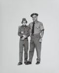 Photographs, Elliott Erwitt (American, b. 1928). Corning Boy Scout and Scout Master, 1976. Gelatin silver. 20 x 16 inches (50.8 x 40....