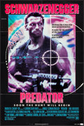 """Movie Posters:Science Fiction, Predator (20th Century Fox, 1987). One Sheet (27"""" X 41""""). Science Fiction.. ..."""