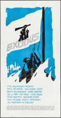 "Movie Posters:Drama, Exodus (United Artists, 1960). Three Sheet (41"" X 79""). Drama.. ..."