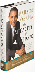 Books:Biography & Memoir, Barack Obama. The Audacity of Hope. New York: 2006. Firstedition, signed....