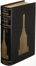 Books:Literature 1900-up, Ayn Rand. Atlas Shrugged. New York: [1957]. First edition,finely bound....