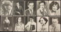"Non-Sport Cards:Sets, 1926 E243 Brody Novelty Candy Co. ""Motion Picture Stars"" (96). ..."