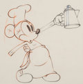 Animation Art:Production Drawing, Mickey's Trailer Mickey Mouse Animation Drawing (WaltDisney, 1938). ...