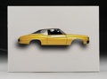 Fine Art - Sculpture, American:Contemporary (1950 to present), Peter Sarkisian (American, b. 1965). 1972 Chevy Chevelle,from Registered Driver Series, 2008. Inkjet on board with...