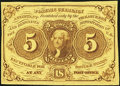 Fractional Currency, Fr. 1230 5¢ First Issue About New.. ...