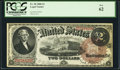 Large Size:Legal Tender Notes, Fr. 50 $2 1880 Legal Tender PCGS New 62....