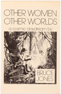 Memorabilia:Comic-Related, Bruce Jones Other Woman, Other Worlds Signed Limited EditionPortfolio #268/1000 (Fantasy Forum, 1978)....