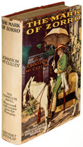 Books:Literature 1900-up, Johnston McCulley. The Mark of Zorro. New York: Grosset and Dunlap, [1924]. First edition. ...