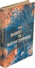 Books:Science Fiction & Fantasy, Ray Bradbury. The Martian Chronicles. Garden City: Doubleday& Company, Inc., 1950. First edition; review copy with ...